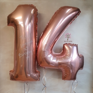 "26"" number balloon"
