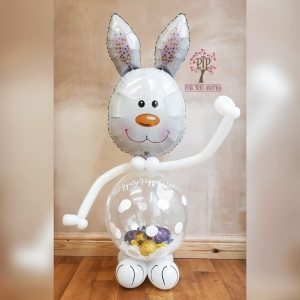 Easter Egg filled gift balloon