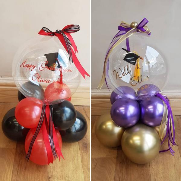 Graduation personalised balloon