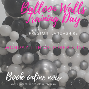 Balloon walls training day